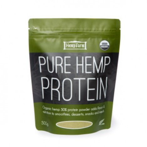 Hemp Farm Pure Hemp Protein Powder 500g