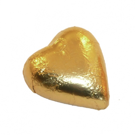 Gold Foiled Heart - 6g