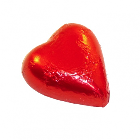 Red Foiled Heart - 6g