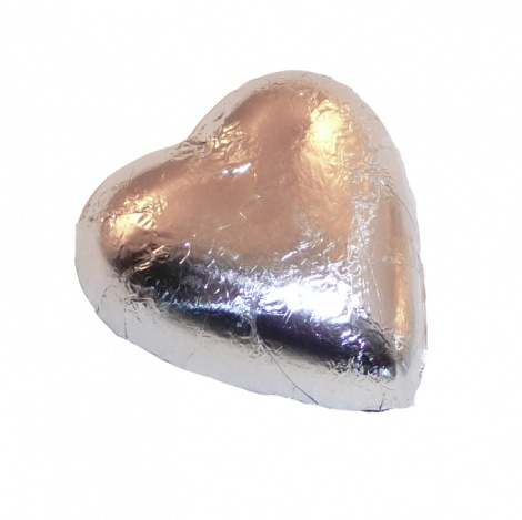 Silver Foiled Heart - 6g