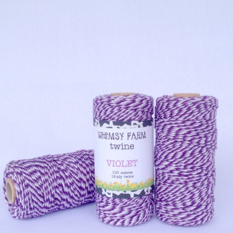 VIOLET - 100M of 12-Ply Twine