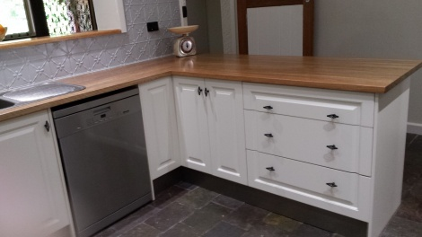 THREE DOOR PANEL CORNER CABINETS ARE VERY POPULAR