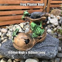 Frog Boot Planter