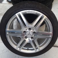 MERCEDES AMG DIAMOND MACHINE CUT WHEEL RESTORATION