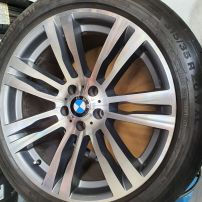 BMW CNC DIAMOND MACHINE CUT WHEEL RESTORATION
