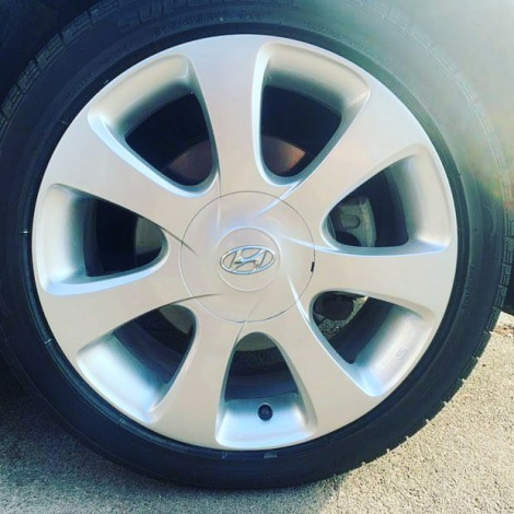 HYUNDAI KERB DAMAGE WHEEL RESTORATION