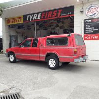 FORD COURIER FULL STEEL WHEEL RESTORATION