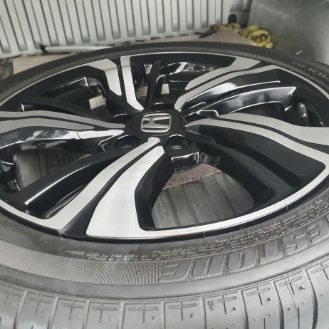 HONDA JAZZ CNC DIAMOND MACHINE CUT WHEEL RESTORATION