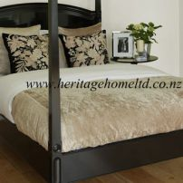 An Elegant Ivory Bedding set
