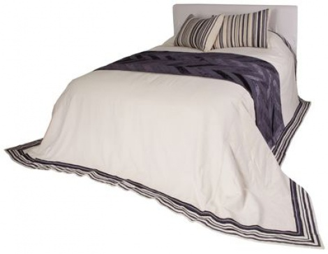 HB001 Cotton Linen Bedspread Set