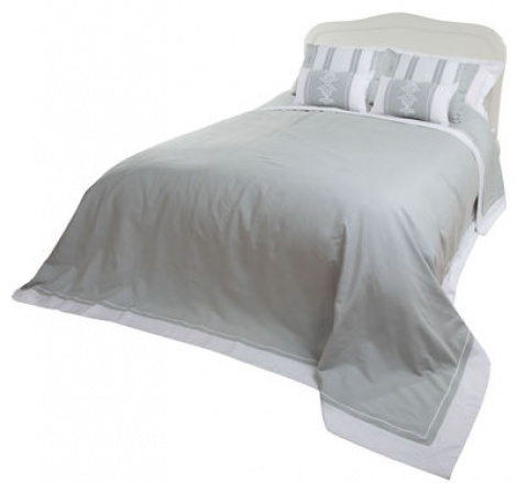 HB002 Cotton Linen Bedspread Set
