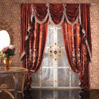 A. Designer Drapes Set