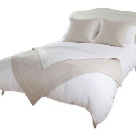 HB008 Cotton Linen Bed Throw