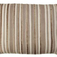 Artist Linen Ivory Stripe Cushion 33x55cm