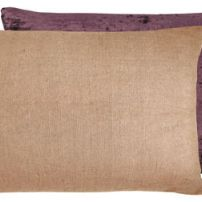Burgundy Reversible Cushion 33x55 cm
