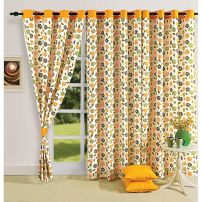 Floral curtain Pair-5203