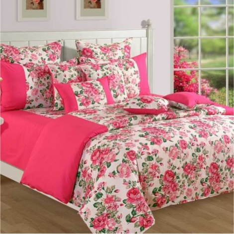 Blush Roses Shades 100% Premium Cotton