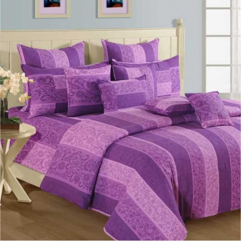 Lilac Layers 100% Premium Cotton