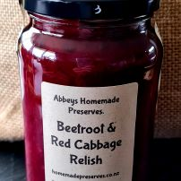 Beetroot and red cabbage  relish