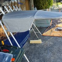 Boat shade cover