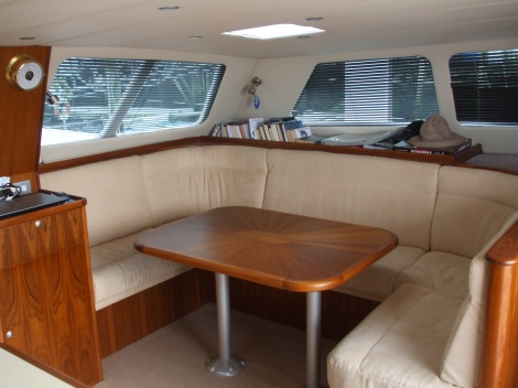 Catamaran refit done by Jon Jones