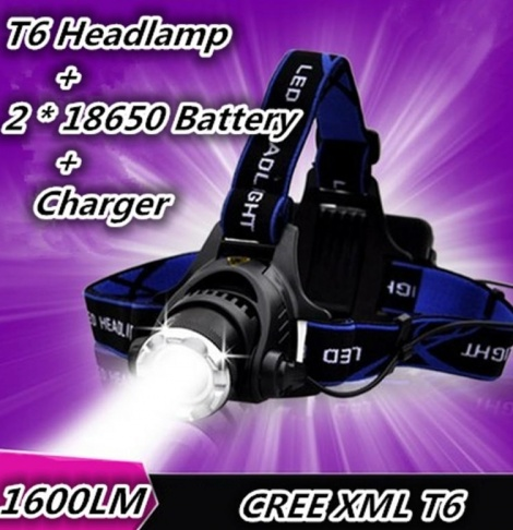 HEAD TORCH 1600 LUMENS
