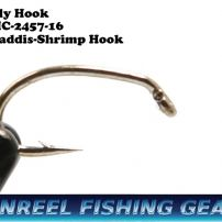 Fly tying hook Caddis-Shrimp Hook MC-2457 #16 or 18