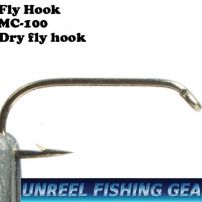 Fly tying hook dry fly hook MC-100