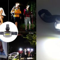 SMALL COB LED HEAD TORCH