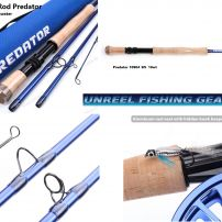 PREDATOR 10 WEIGHT SALT WATER FLY ROD