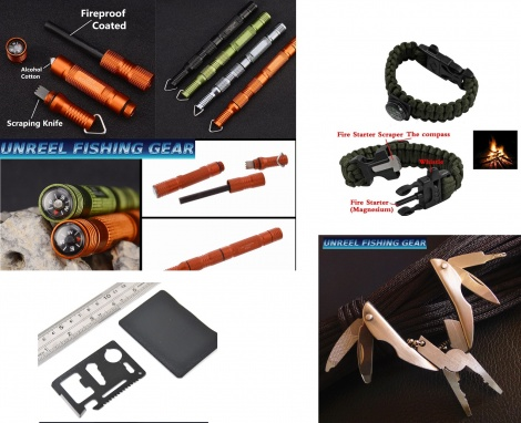 UNREEL OUTDOOR MULTI TOOL/ SURVIVAL KIT