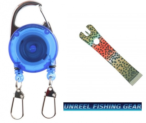 ZINGER WITH RAINBOWTROUT LINE NIPPERS.