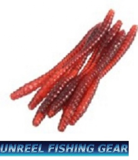 RED WORM SOFT BAITS