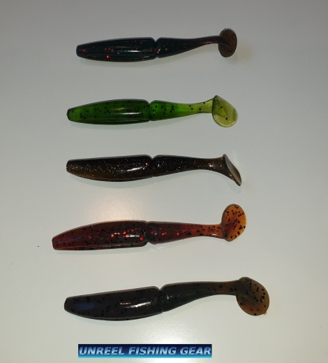 RIPPER SHAD SOFT BAIT LURES