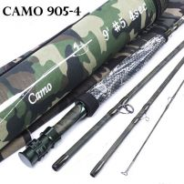 4 PIECE CAMO FLY ROD