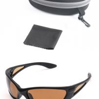 POLARIZED FISHING GLASSES WITH BRONZE LENS