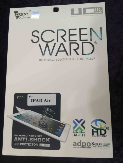 Screen Ward Ipad Air