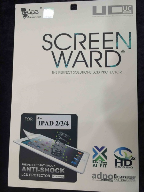 Screen Ward Ipad 2/3/4