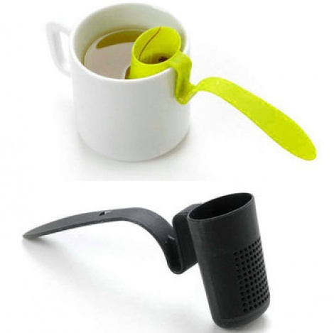 Plastic Spoon Tea Strainer