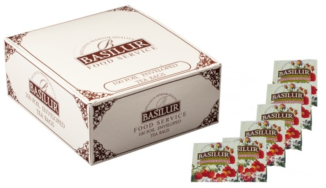 Magic Fruits - RASPBERRY & ROSEHIP - 100 tea bags NEW