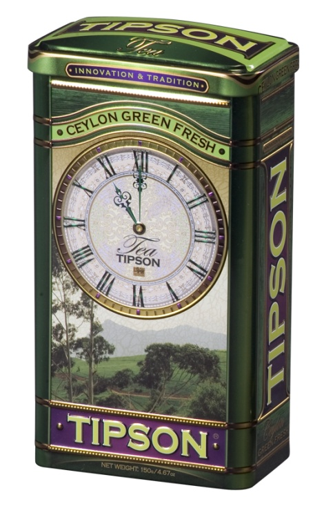 TIPSON Green tea 150g