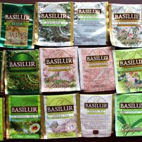 Basilur Green Teas