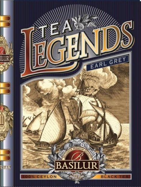 Basilur Tea Legends Earl Grey