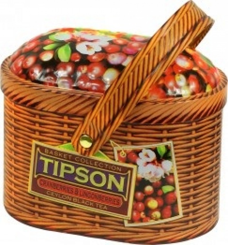 Tipson Basket Cranberry & Lingonberry