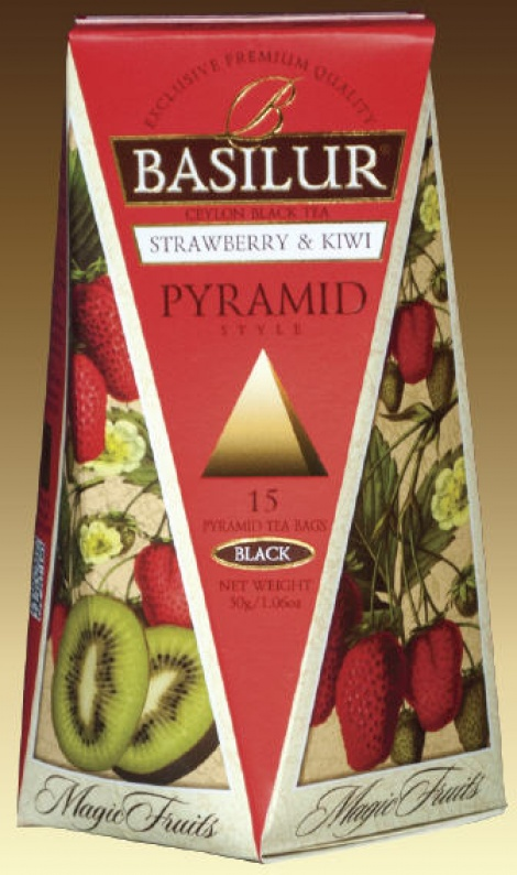 Magic Fruits - Strawberry & Kiwi 15 pyramid Tea Bags NEW!!!