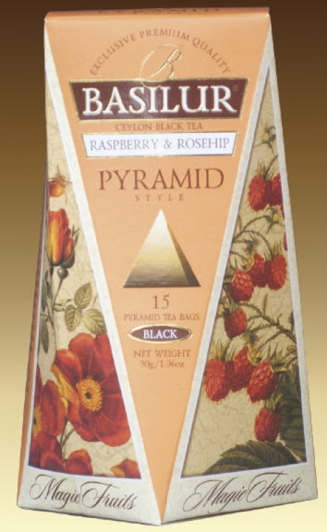 Magic Fruits - Raspberry & Rosehip 15 Pyramid Tea Bags NEW!!!