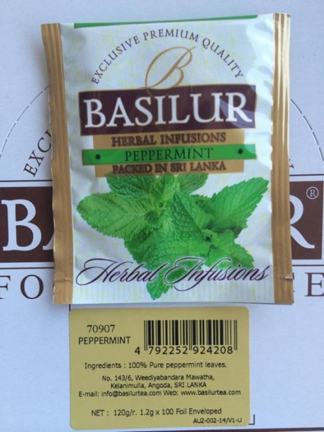 Herbal Infusions - PEPPERMINT - tea bags NEW