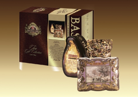TEA GIFT COLLECTION - GOLD - 2 IN 1 - (ISLAND OF TEA (70283) 100g+ TREASURE (70497) 100g)  NEW!!!