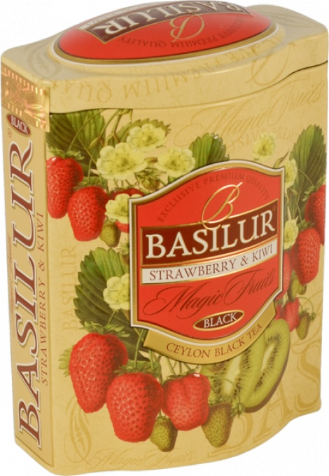 STRAWBERRY & KIWI 100g tin NEW!!!