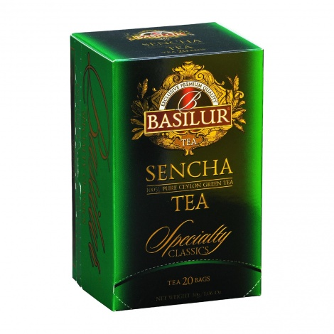 SENCHA GREEN TEA 20EN tea bags NEW
